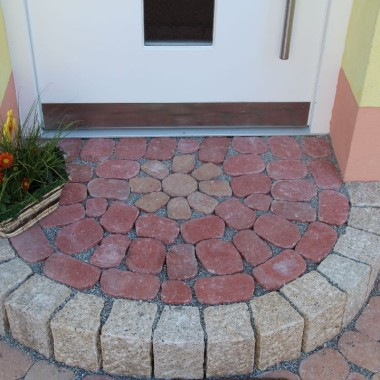 Eingangspodest Gartengestaltung
